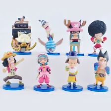 One Piece coplay  PVC anime figure figures set of 8pcs toys YT456 Collect doll