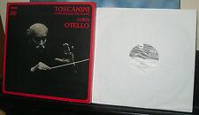 TOSCANINI ,  COFANETTO 3 VINILI RCA VERDI OTELLO con libro dell' opera it - en