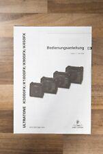 Manual de usuario (holandés) para Behringer Ultratone K3000FX K1800FX K900FX K450FX Amp