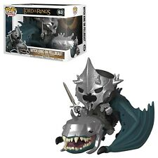 Funko - POP Rides: Lord Of The Rings S5- Witch King w/ Fellbeast New