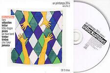 CD CARDSLEEVE 15T PIXIES/LIARS/TIMBER TIMBRE/SÉBASTIEN TELLIER/LITTLE DRAGON