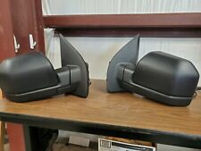 OEM 2015-2018 Ford F150 Pair Side View Manual Tow Mirror FL34-17683