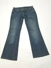 7 Seven Women's Jeans Size 27 Flare Denim Bootcut Medium Wash Career Casual
