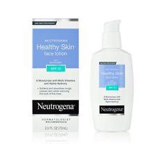 Neutrogena Healthy Skin Face Lotion SPF 15, 2.5 Ounce Each