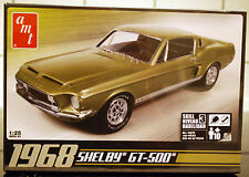 1968  Ford Mustang Shelby GT 500, 1:25, AMT 634