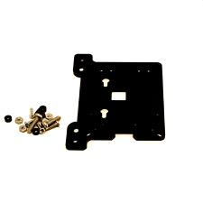 Zebra VESA Arm Mounting Plate Black- for Raspberry Pi 4B, 3B+, 3, Pi2, Arduino