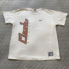 Vintage NIKE White Tag San Jose Clash MLS Soccer Shirt White Large Made In USA