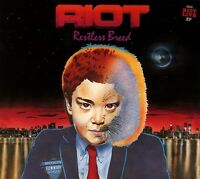 RIOT - RESTLESS BREED REISSUE   CD NEW+