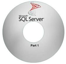 SQL Server (3 DVDs) MS SQL SQL Server Video Training Tutorial SQL 2008