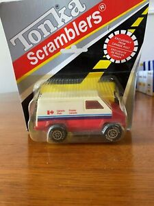 Vintage 1981 Tonka Scramblers Exclusively from Canada Post #837551 Blister Pack