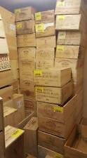 4 X GENUINE 12 BOTTLE LARGE WOODEN WINE CRATE / BOX / PLANTER / HAMPER STORAGE -