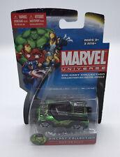 2011 Maisto Marvel Universe Die-cast Hulk FM Rover SUV Green Yellow Black NRFP