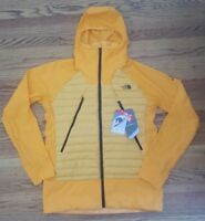 New The North Face Mens Unlimited Jacket Medium nwt Orange 800 down