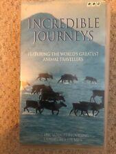 BBC Incredible Journeys VHS - Nigel Marven