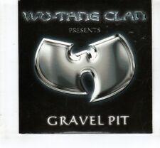 (HL510) Wu-Tang Clan, Gravel Pit - 2000 DJ CD