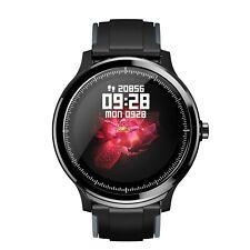 OLED Bluetooth Smartwatch SN80 Pulsuhr IP68 wasserdicht iOS Android Huawei LG