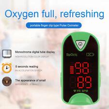 Finger Pulse Oximeter Fingertip Blood Oxygen SpO2 PR Monitor Saturation Meter UK