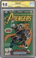 Avengers #196 CGC 9.0 SS 1980 1323168004 1st full app. Taskmaster