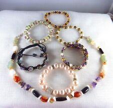 Bulk lot of assorted Jewellery, Pearl, Gemstones Beads + more x7