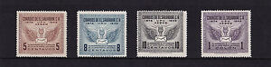 El Salvador - 1949 UPU - U/M - SG 981-84