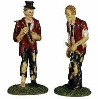 "Lemax Spooky Town ""A Chilling Band Of Two"" #02958 Halloween Village Accessory"