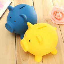Plastic Piggy Bank Coin Money Cash Collectible Saving Box Pig Toy Kids Gift NEW