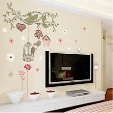 DIY Removable Tree Wall Decals girl Bedroom Baby Nursery Stickers Art Room Decor