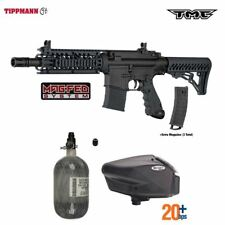 Tippmann Maddog Tmc Magfed Hpa Paintball Gun Marker Package C