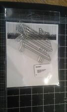 Two paper Divas Picnic table clear stamp - New