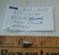 Lionel  646,2055,675,2056 etc., trailing truck screw as pictured