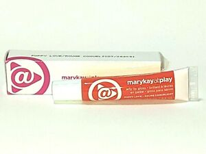 Mary Kay At Play Jelly Lip Gloss ** poppy love - new - orange