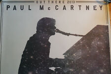 Paul mc cartney rare poster lithograph 2013 out there tour