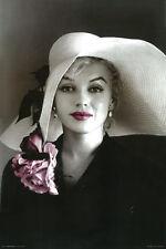 #Z126 Marilyn Monroe Hat Poster 24X36