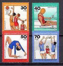 Germany - 1976 Youth welfare: Training for Olympia / Sport Mi. 882-85 MNH