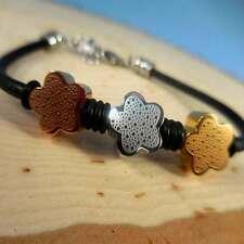 Tri-Color Flower Bracelet