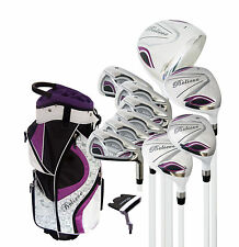 "Believe Ladies Complete Golf Set by Founders Club Purple RH - Petite (-1"")"