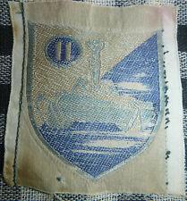 ARVN - 11th ARMORED TANK BATTALION - Original Silk Patch - Vietnam War - 1380