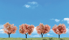 Woodland Scenics Woodland Classics Flowering Tree Tr3593 Pkg 4