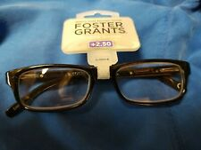 Foster Grant's Reading Glasses +2.50( new with tags