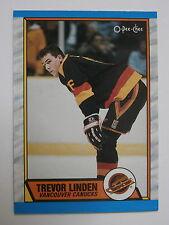 1989-90 O-Pee-Chee #89 Trevor Linden *Rookie Card*