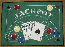 Man Cave ~ Games People Play Poker Jackpot Tapestry Placemat