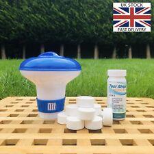 Chlorine Tablets Testing Strips Floating Chemical Dispenser Hot Tub Lay Z Spa.UK