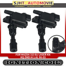 2x Ignition Coil for MAZDA 323 BJ 1998-2003 FORD LASER KN KQ 1998-2002 ZMD 1.6L