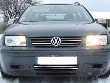 Scheinwerfer für VW Bora Bj. 1998-2005 Chrom LED Tagfahrlicht Optik europw. zuge