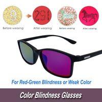 BP-002 1 PCS MiNi Size Color-Blind Sunglasses Color Weakness Correction Glasses