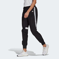 adidas Womens Reflective track pants with classic adidas style black