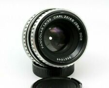 Vintage Carl Zeiss Pancolar Zebra 50mm f/1.8 M42 mount Lens SLR DSLR Portrait
