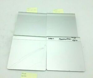 Lot 4 cracked Apple Magic Trackpad  Parts Bluetooth Wireless A1339 as is repair