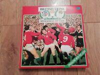 BRITISH LIONS * SILVER JUBILEE 1977 TOUR * VINYL LP W/ BOOKLET GATEFOLD EX/EX