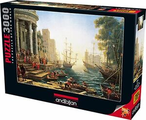 Seaport with the Embarkation of St. Ursula 3000 Piece Puzzle by Anatolian